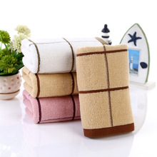 Hand Towel for Kitchen Plaids Jacquard Face Towels Cleaning Car Bathroom Skin Care Facecloth 2pcs/set toallas
