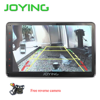 JOYING new intel 1 din Android 6.0 car radio head unit stereo with HD 10.1'' touch screen free back up rear view reverse camera