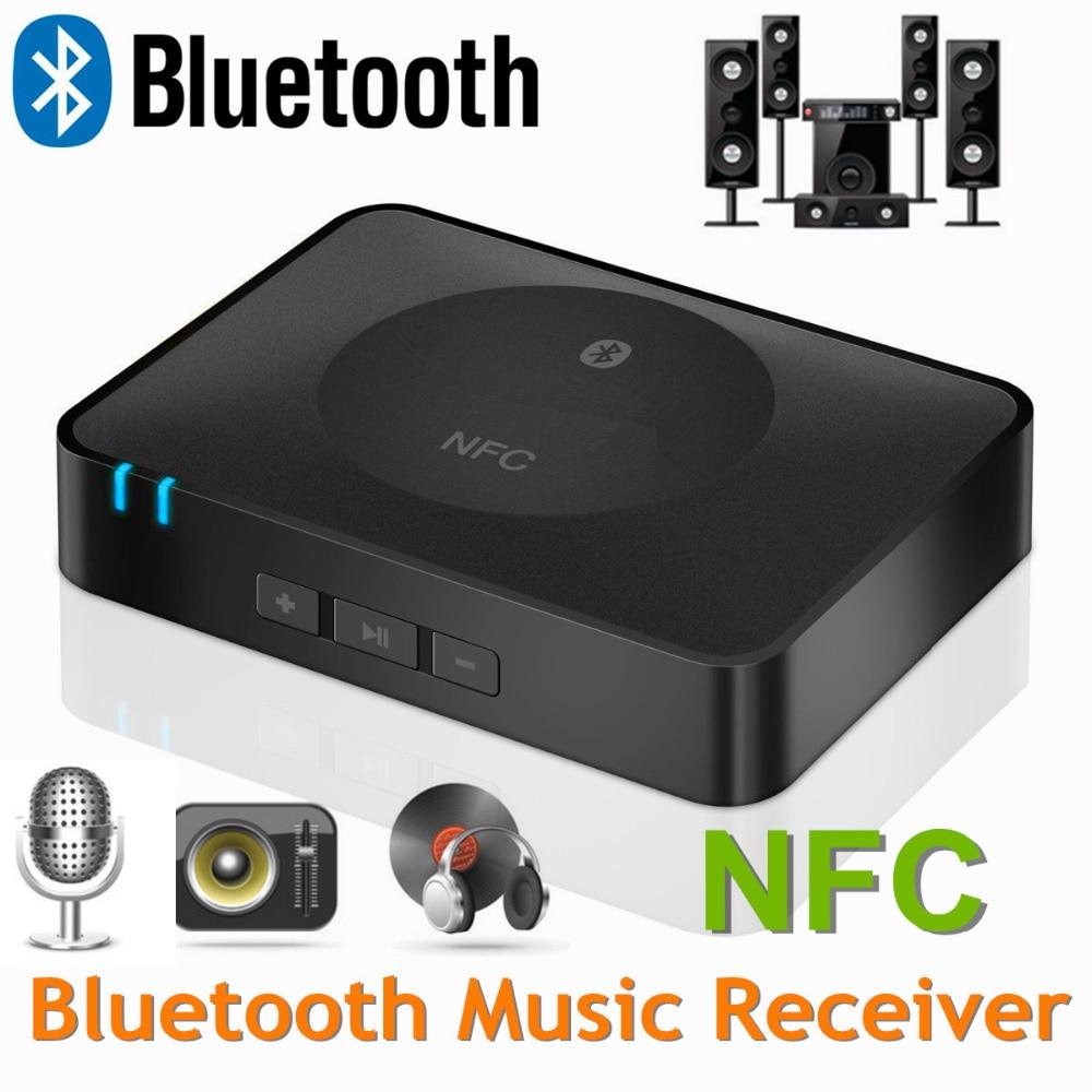 Wireless NFC Bluetooth Audio Receiver micphone Music iphone samsung htc homespeker audio system - AKSOUND TECH store