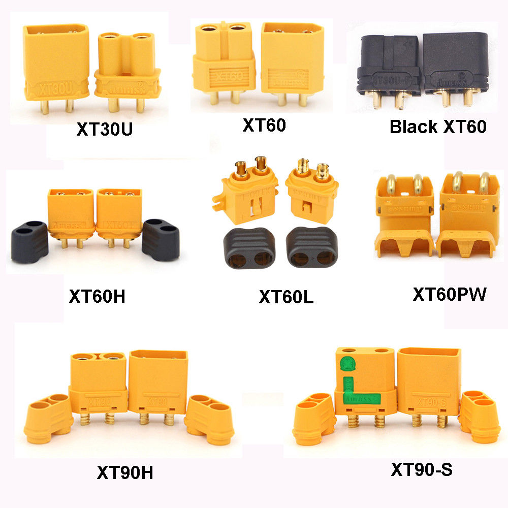 Heavy Duty Adapter B02-3 3pcs XT90 XT-90 Male to EC5 Female Connector Adapter
