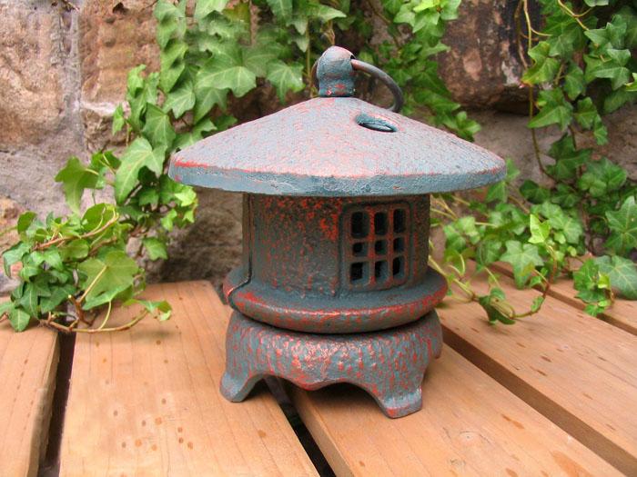 Vintage Rustic Iron Metal Hanging Garden Lantern Home