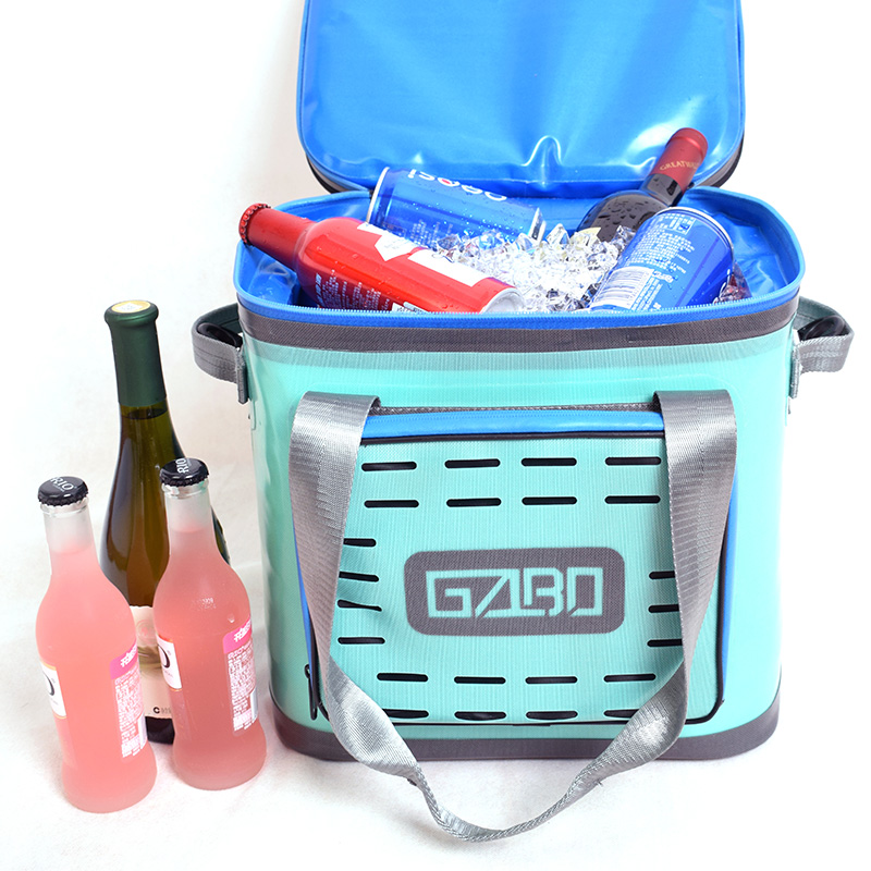 GZLBO Hopper Flip Portable Cooler waterproof 30 cans  cooler 2 color food and bear  cooler bag sikote insulation fold cooler bag chair lunch box thermo bag waterproof portable food picnic bags lancheira termica marmitas