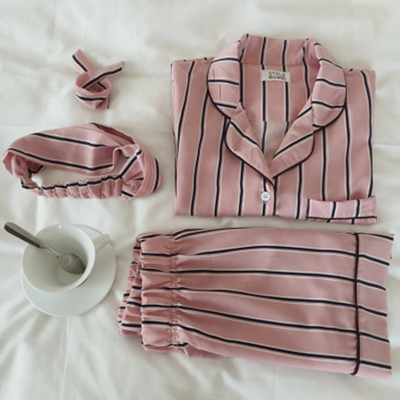 100% Cotton   Pajamas     Set   Student Short Sleeve Cute Cartoon Bunny Pyjama Shorts Shirt Blinder 3 Piece/  Set   Women Home Sleepwear