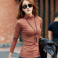 Autumn Winter Tops Fashion Turtleneck Neck Casual Sweater Women Clothing Brand Warm Thick Solid Color Plus Size XXXXL Pullover
