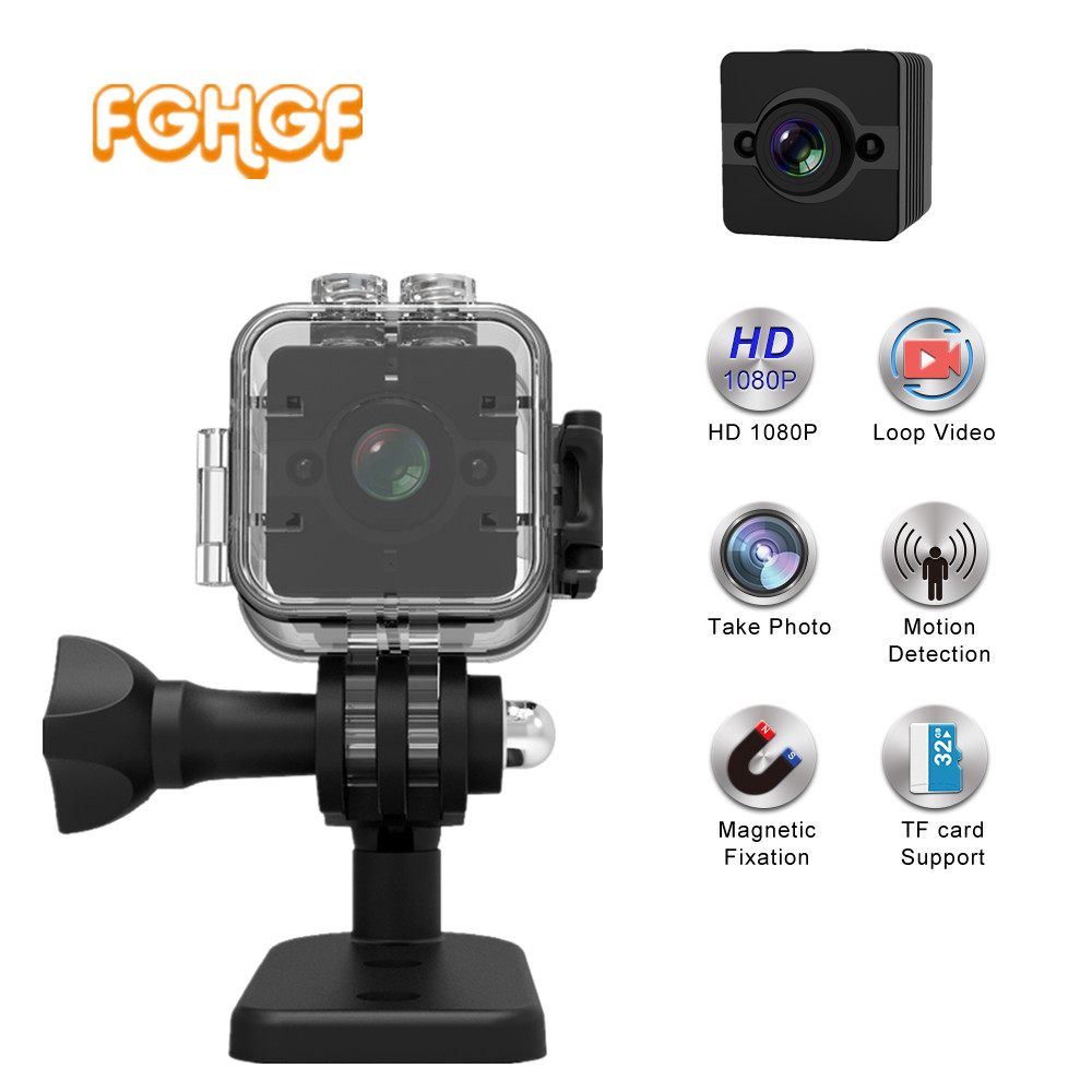 SQ12 HD 1080 P Mini caméra Grand Angle Étanche MINI Caméscope DVR Mini caméra vidéo Sport caméra micro caméra SQ11