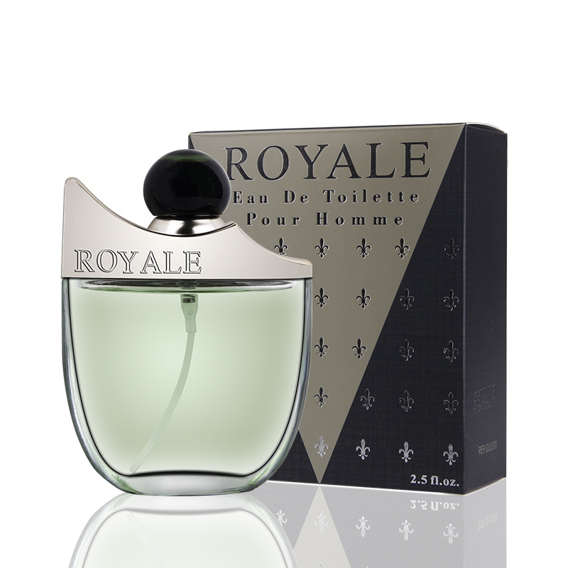 JEAN MISS Royale Long Lasting Fragrances Scent Brand 75ml Perfume Men Parfum Atomizer Body Spray Bottle Glass Male Perfume M27