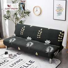 Slowdream Sofa Bed Cover Elastic Band Nordic Without Armrest Folding Cover For Living Room Couch Cover Decor Home Sofa Bed Cover yn49 original lovely floor sofa bed 5 position adjustable sofa living room reclining folding sofa steel structure pass sgs