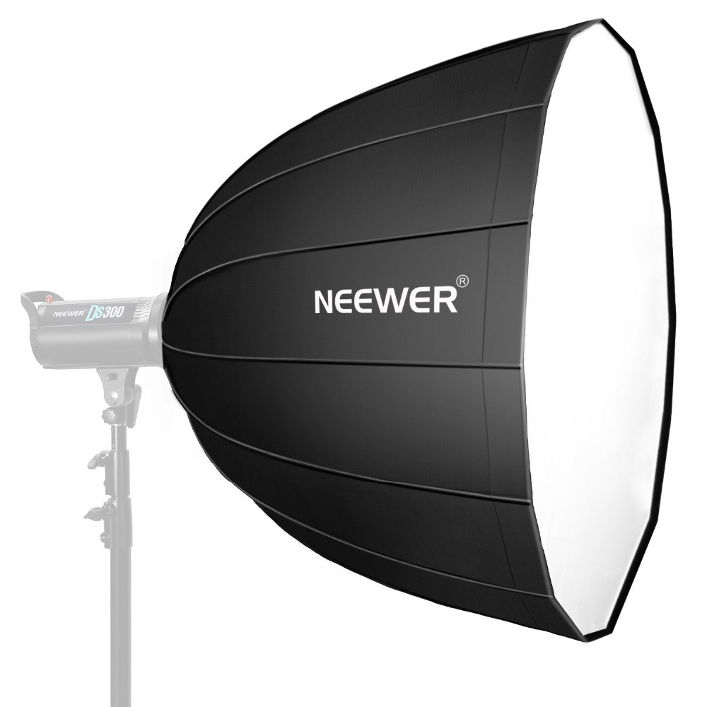 Neewer 48 Inches/120 Centimeters Deep Hexadecagon Softbox-Quick Collapsible With Bowens Speedring And Diffuser For Speedlite