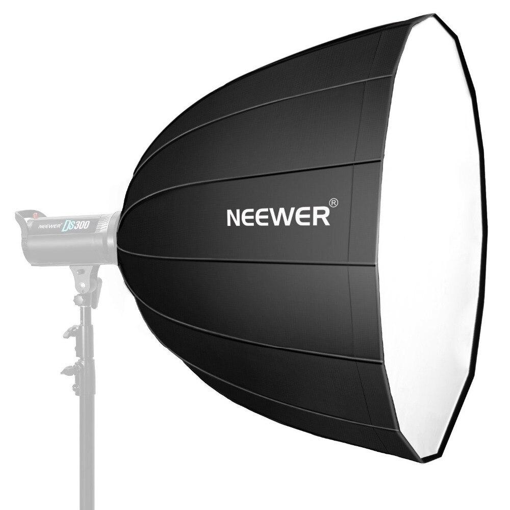 Neewer 48 pouces/120 centimètres Profonde Hexadecagon Softbox-Rapide Pliable avec Bowens Bague et le Diffuseur pour Speedlite