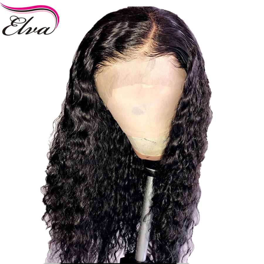 150% Density 13*6 Lace Front Human Hair Wigs Curly Wig With Baby Hair Front Lace Wig For Women Brazilian Remy Hair Wig Elva Hair