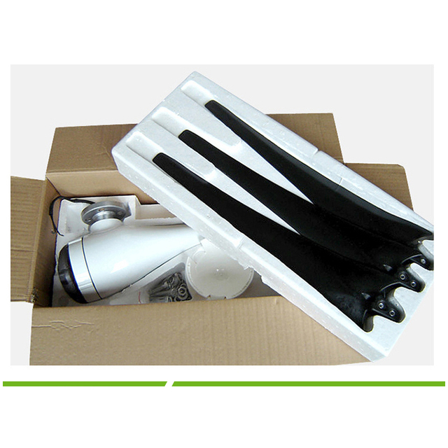 200W Wind Turbine Generator 12V AC 2.0m/s Low Wind Speed Start,3 blade 580mm