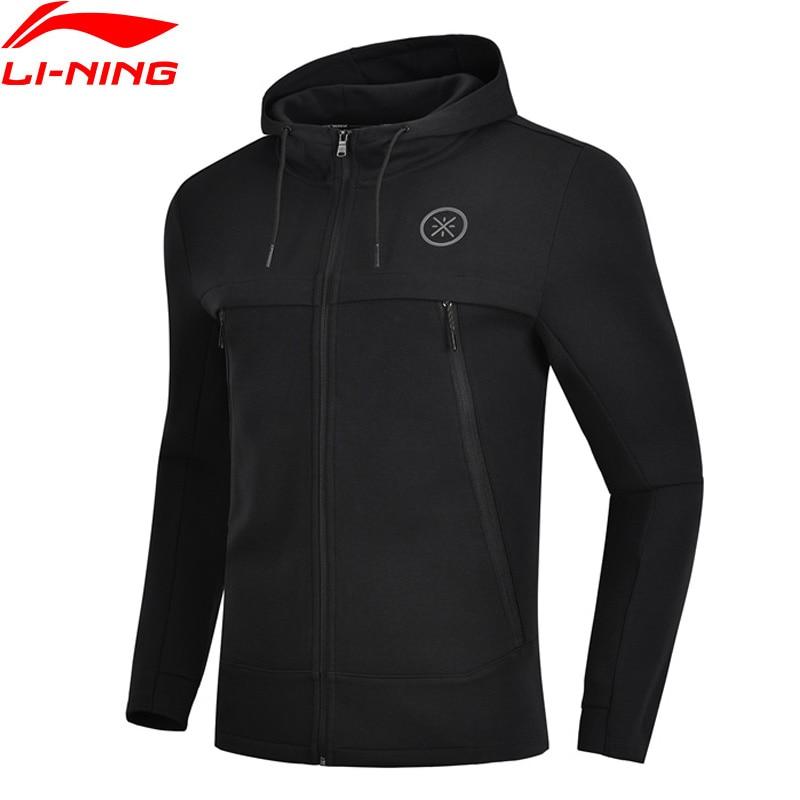 Li-Ning Men Wade Series Sweater 3D Fitting Regular Fit 66% Cotton 34% Polyester LiNing Comfort Sports Hoodie AWDN901 MWW1480 li ning men wade series hooded coats 71