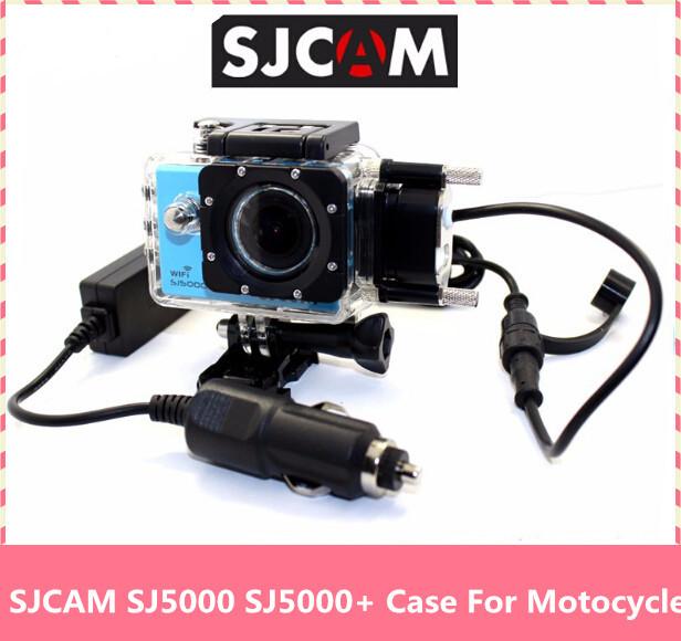 Caso Para O Original SJ5000 SJCAM Impermeável SJ5000X WIFI Carregador de Apoio Caixa Subaquática Habitação Mergulho Underwater Protective