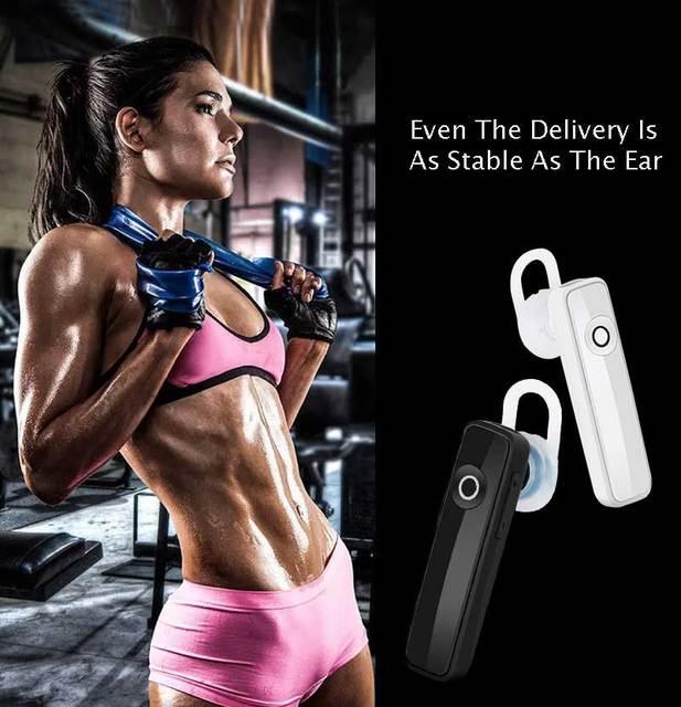 Rovtop Stereo Headset Bluetooth Earphone Headphone Mini V4.1 Wireless Bluetooth Handfree Universal For All Phone For Iphone