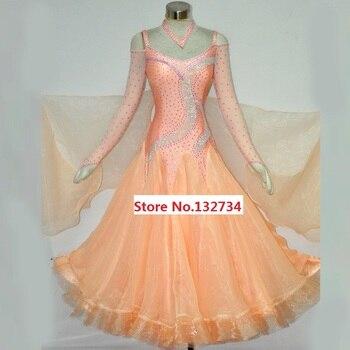 1c22bdaf5c Mujeres estándar Salón alta calidad por encargo Salón bailando traje para  señora Waltz tango danza Vestidos