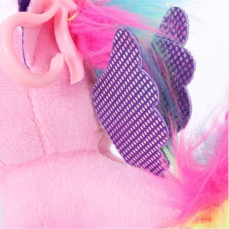 Plush Animal Unicorn Horse Stuffed Animals Toys Baby Infant Girls Toys Birthday Gift Rainbow licorne13