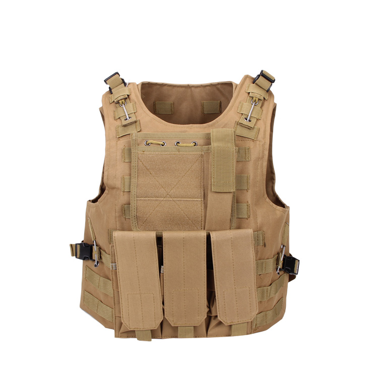 FSBE Tactical Molle Hunting Military Molle Combat Assault Plate Carrier Vest (A-TACS) cs Party tacs tacs ts1003b