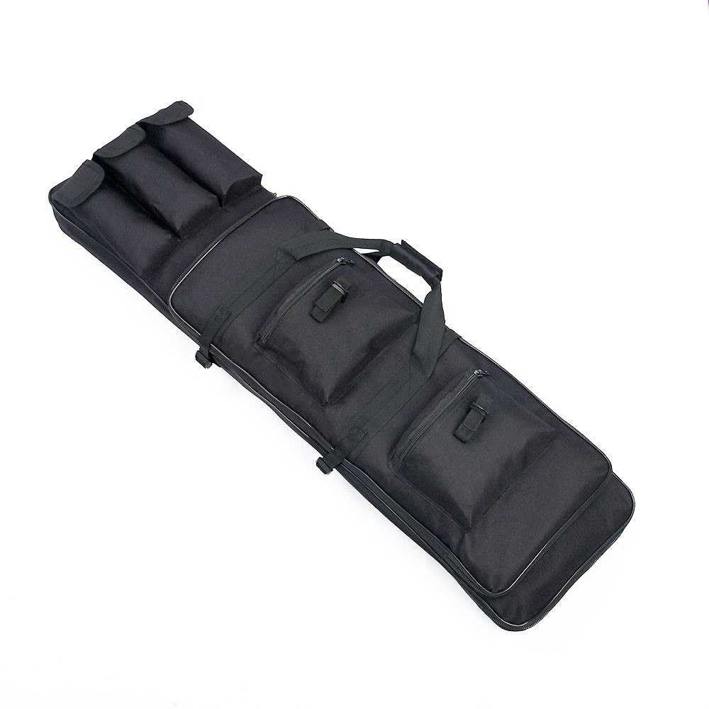 Military Rifle Bag 100CM Black Waterproof Square Carry Gun Bag 100*30*8cm High Quality Holster Pouch Bag Rifle Case PP12-0014