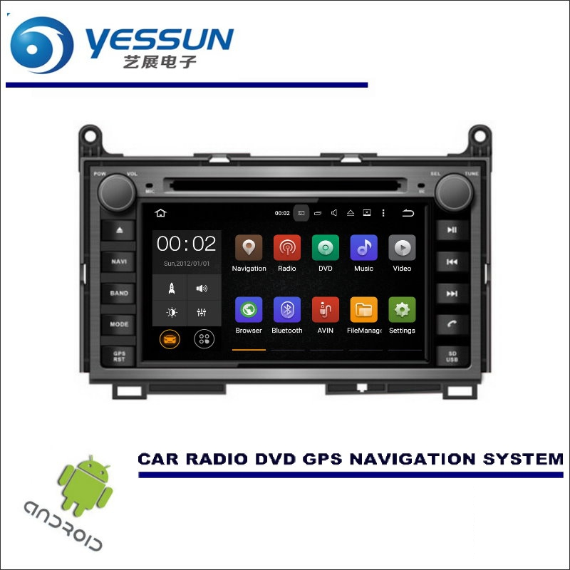 YESSUN For Toyota Venza 2008~2013 - CD DVD GPS Player Navi Radio Stereo Screen Car Multimedia Navigation Wince / Android System цена