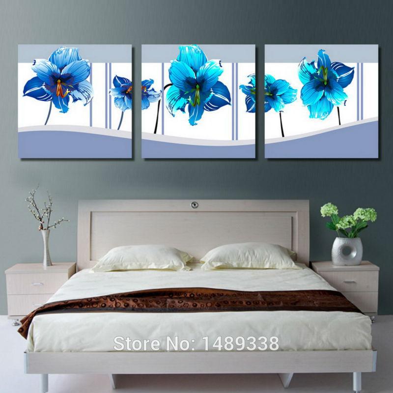 Slaapkamer blauw schilderen for - Schilderij slaapkamer meisje ...