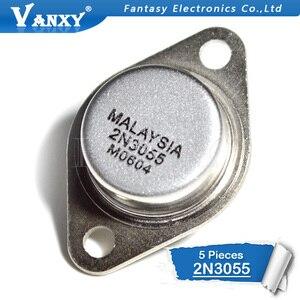 5PCS Transistor 2N3055 TO-3 15