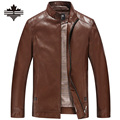 Men's Leather Jackets Autumn And Winter Faux Leather Motorcycle Jackets Leather Thick Coats Outerwear For Male Clothing Big Size
