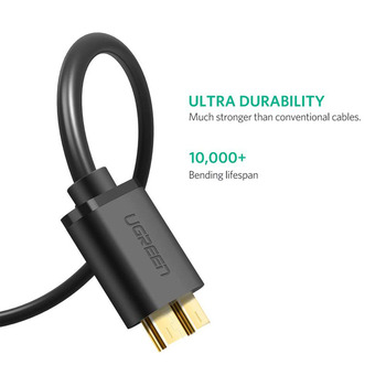 USB 3.0 A Male to Micro B Cable 5