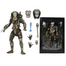 NECA PREDADOR Escala Final P1 Demônio Caçador Selva Selva de Concreto Líder Do Clã PVC Action Figure Collectible Modelo Toy 20 cm(China)