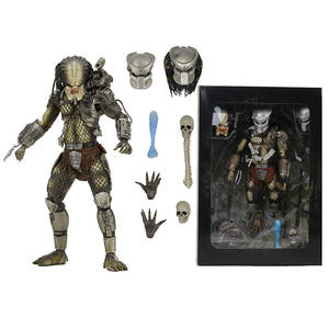 NECA PREDATOR Model-Toy Scale Action-Figure Collectible Leader Concrete Jungle-Hunter