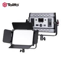 Tolifo GK S60B 60 Вт 600 шт. светодио дный светодиодные светодио дный лампы СВЕТОДИОДНЫЕ Фото Видео свет двухцветные двухканальный контроллер DMX 512 +
