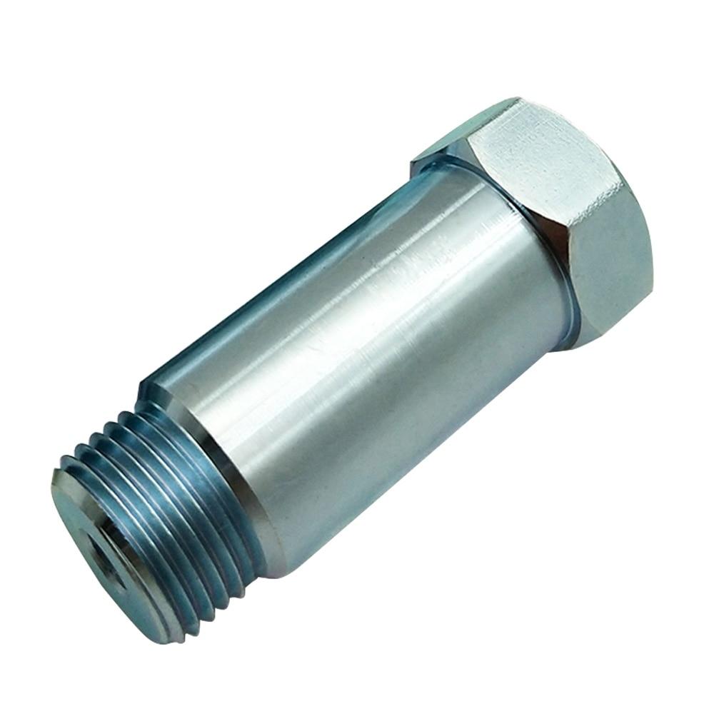 O2 Sensor Exhaust Pipe: Car O2 Oxygen Sensor Test Pipe Extension Internal External