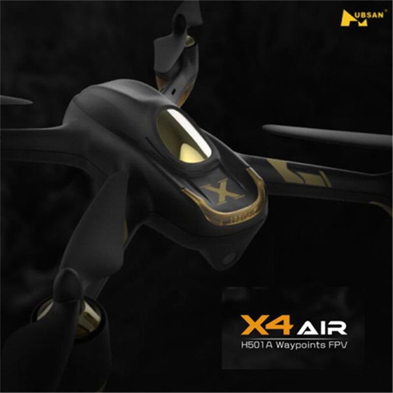 (In Stock) Hubsan X4 AIR H501A with HT500 Relay WIFI FPV Brushless RC Quadcopter With 1080P HD Camera Drone