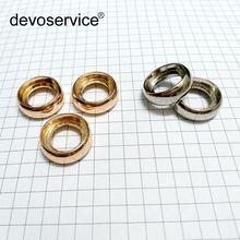 Металлическое кольцо с отверстием в виде гриба диаметр 18 мм