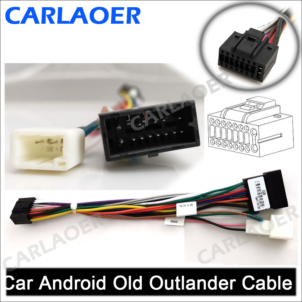 Car Android Old Outlander Cable