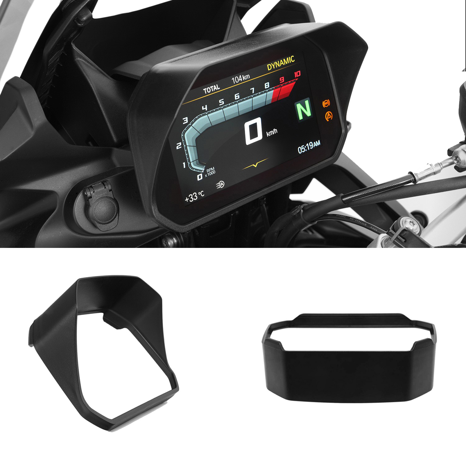 Image 2 - KEMiMOTO Speedometer Sun Visor for BMW R1200GS R 1200 GS Adv F850GS F750GS F850GS 2018 2019 R1250GS R1250R GS LC Adventure-in Covers & Ornamental Mouldings from Automobiles & Motorcycles