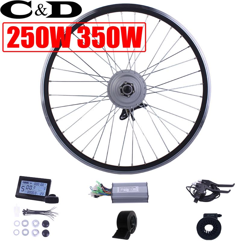 250W 350W 36V 48V ebike kit Electric bike conversion kit XF07 XF08 MXUS Motor without battery