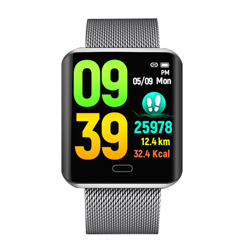 B8 Women Men Bluetooth IOS Android Intelligent Reminder IP67 Waterproof Leather Steel Fitness Tracker Sports Digital Smart WatchB8 Women Men Bluetooth IOS Android Intelligent Reminder IP67 Waterproof Leather Steel Fitness Tracker Sports Digital Smart Watch
