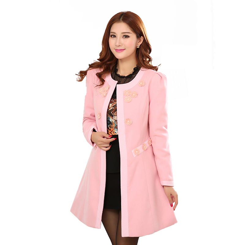 Pink coat ladies – Modern fashion jacket photo blog