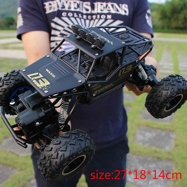 1:12 1:16 RC Cars 4WD Double Motors Drive 2.4G Electric Radio Remote Control Off-Road Climbing Bigfoot Car Kid Gift Toys for BoyRemote Control Toys
