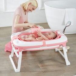 Складной кран для ванной новорожденных, портативная складная детская ванночка для купания, бассейна