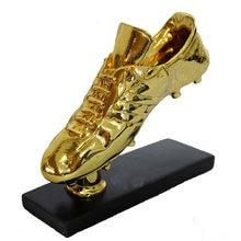 Sıcak satış altın çizme ayakkabı Trophy çoğaltma altın çizme ödülü futbol ayakkabısı hayranları hediyelik eşya koleksiyon