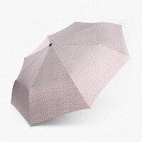 Hot Sale Classic Creative Full Automatic Cowboy Umbrella Korean Sweetheart Folding Dual purpose Lovers Umbrella
