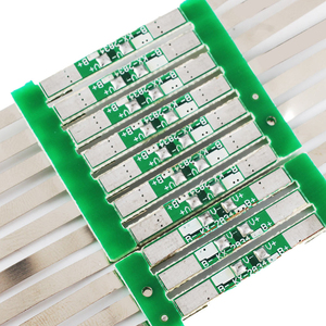 Image 2 - 10pcs 3.7V 3A Li ion Lithium Battery 18650 Charger Over Charge Protection Board With Solder Belt #246061