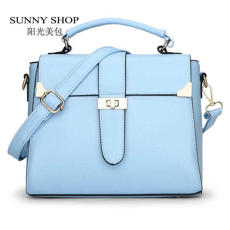 Prix pour Sunny shop d'été style flap femmes sacs petit de couleur de sucrerie épaule sacs de messager des femmes fraîches cadeaux pour les adolescentes