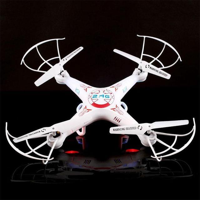 Новые ГОРЯЧИЕ ПРОДАЖИ Исследователей 2.4 ГГц 4CH 6 Оси Гироскопа RC Quadcopters БПЛА Drone НЛО RTF Белый 4 Высокое Качество Рождество подарок