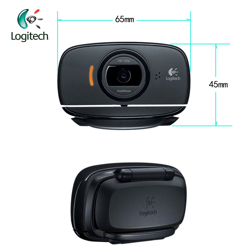 cc3699b64d5 Logitech C525 HD Video Webcam with Autofocus 8MP Camera Built in Microphone  USB2.0 Support Official Test for Windows 10/8/7-in Webcams from Computer ...