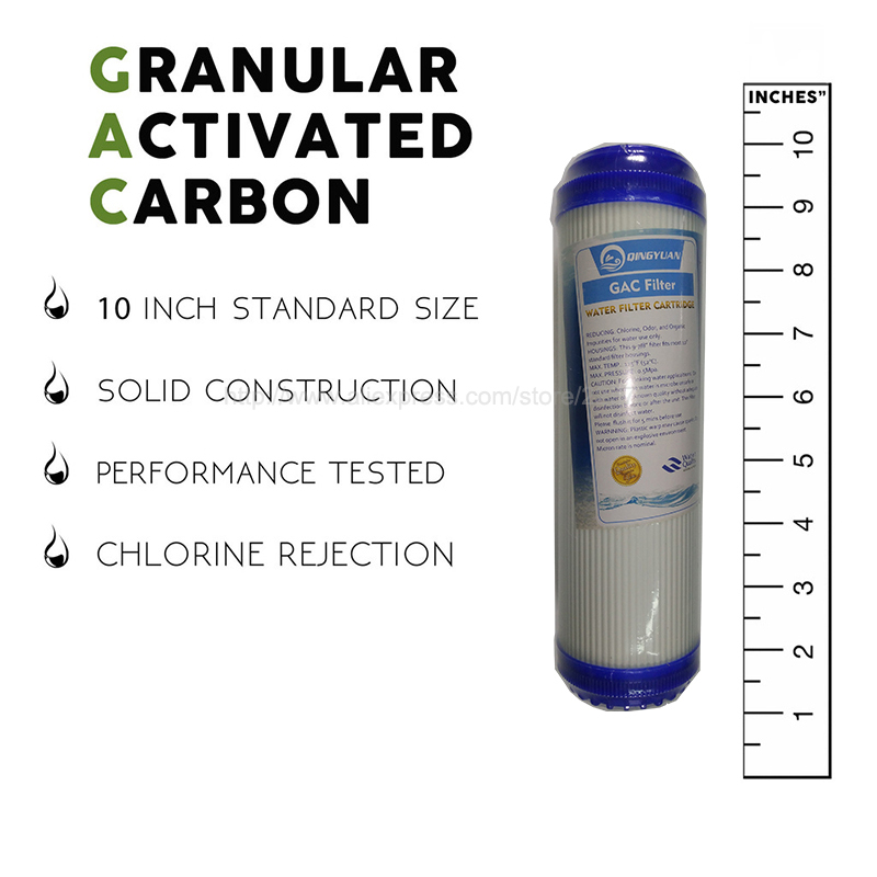 036a2af876dd 10 Inch Water Purifier Filter UDF/GAC GRANULAR ACTIVATED CARBON 5  MICRONTASTE/ODOR CARBON WATER FILTER FOR REVERSE OSMOSIS-in Water Filters  from Home ...