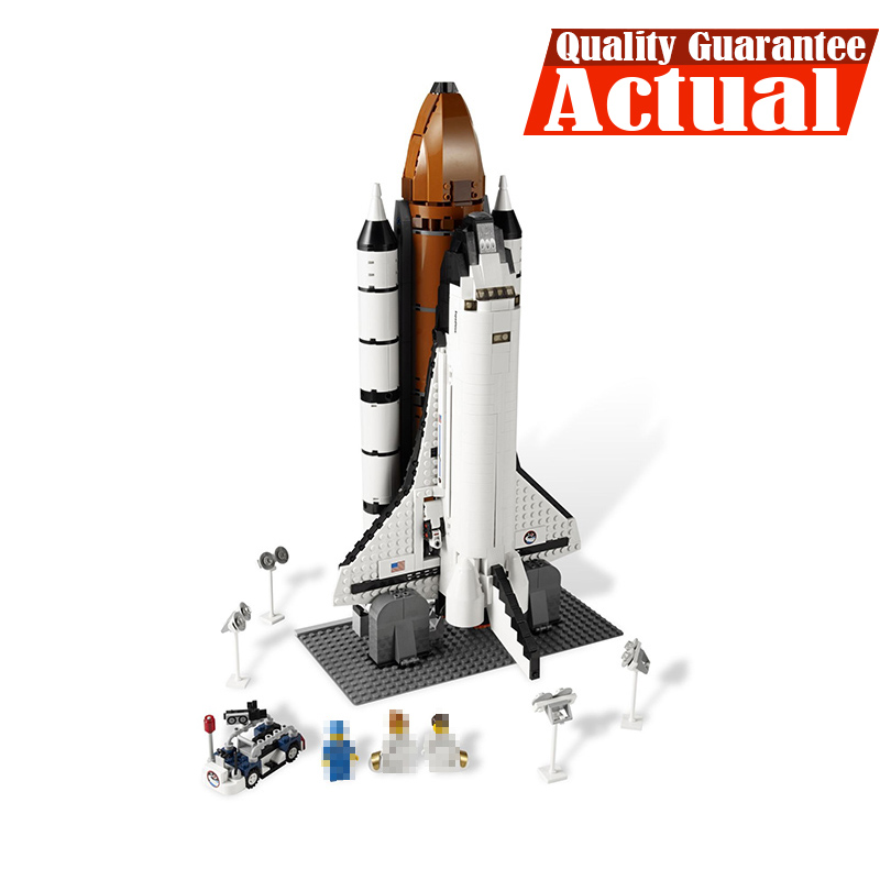 LEPIN Technic 16014 1230Pcs Space Shuttle Expedition Model Building Bricks Blocks Kit figures Toys for Children Compatible 10231 loz architecture space shuttle mini diamond nano building blocks toys loz space shuttle diy bricks action figure children toys