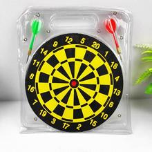 10 inch Darts Plate Double-sided Flocking Dart Board Professional Suit Special Darts Disc