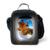 Nuevo Diseño 3D Animales Bolsa de Almuerzo para Los Niños Lindos de la Jirafa niños Lonchera Térmica de Impresión de Caballo De Moda Bolsa de Hombro para de Picnic